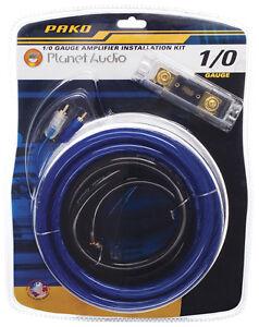 s l300 planet audio 0 gauge amp amplifier wiring kit pak0 ebay