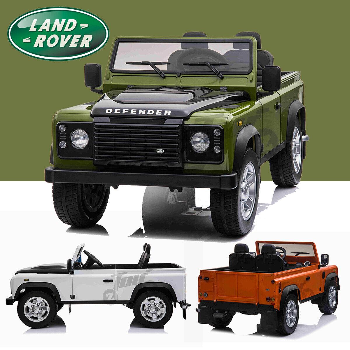 Kids Official Licensed Land Range Rover Defender Jeep 12V Electric Ride On Car