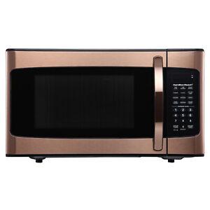 Microwave Oven Hamilton Beach 1 1 Cu Ft Countertop Cook
