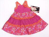 Dress Pink Summer Sleeveless Toddler Flower Dresses Girls Party Size 2t 3t