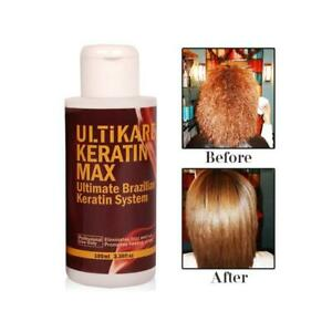 Ui Tikera Keratin Max Ultimate Brazilian Keratin System Hair Treatment 100ml Ebay