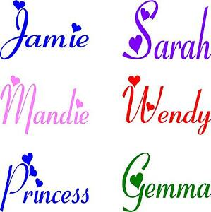 1-PERSONALISED-GIRLS-NAME-WITH-HEARTS-BEDROOM-WALL-VINYL-STICKER-DECALS