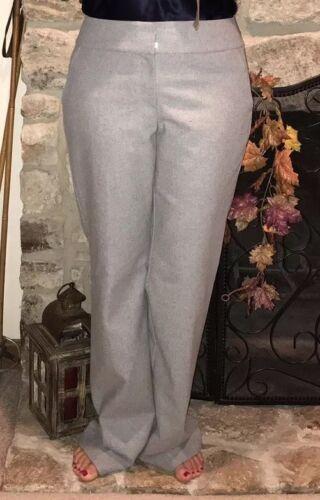 Taylor gris laine 8 Pantalon de en mélange Ann Taille nw Factory Signature xqwU0BInU