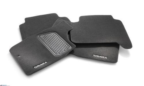 Genuine Nissan Navara Carpet Floor Mat Front and Rear Set Part G4900-VM000AU