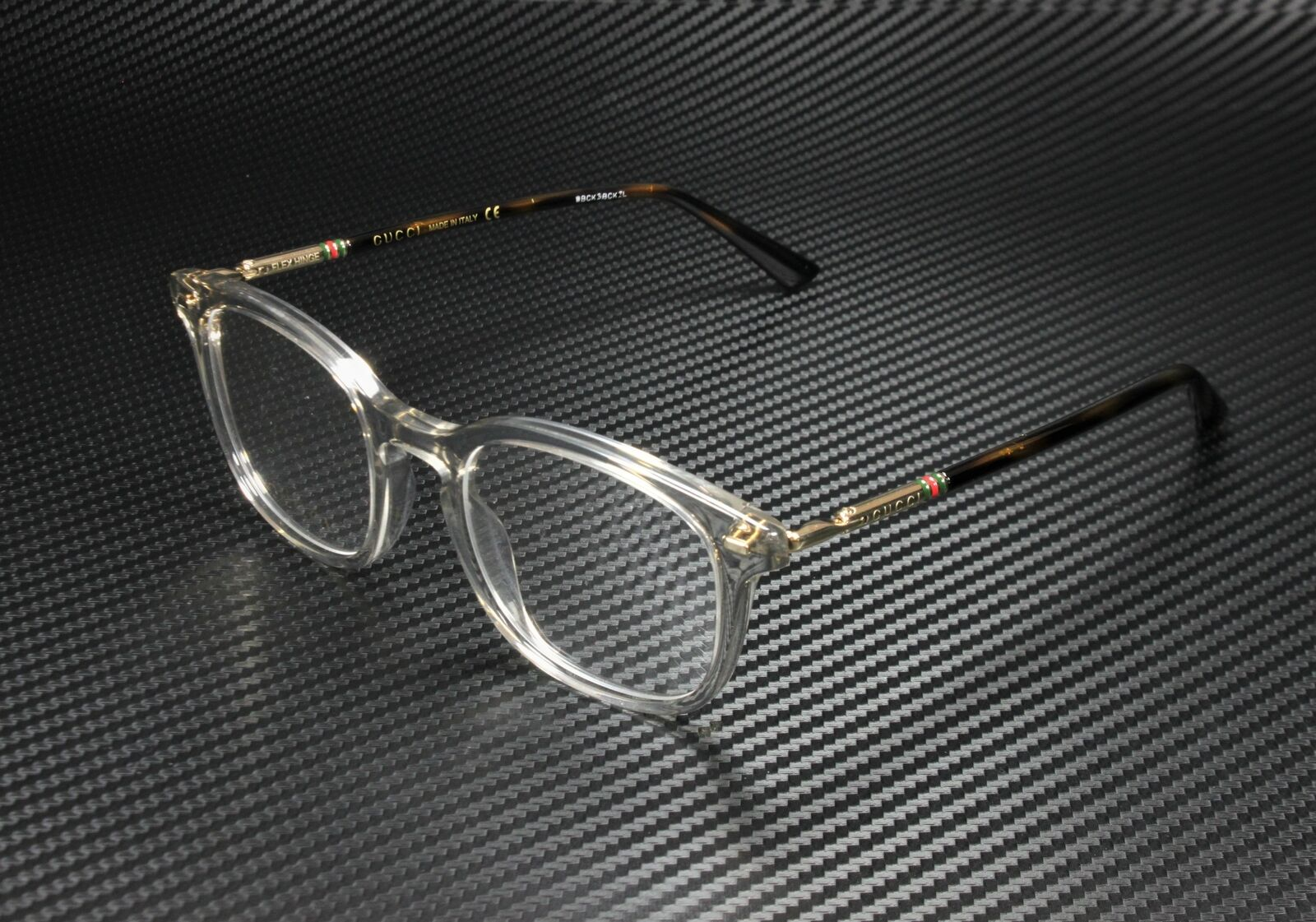 HG 0313 0WR9 Brown Havana Eyeglasses Hugo 00 Demo Lens hug