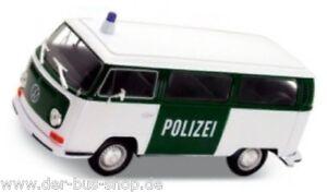 VW-Bus-T2-Modell-1-24-Polizei-NEU-amp-OVP