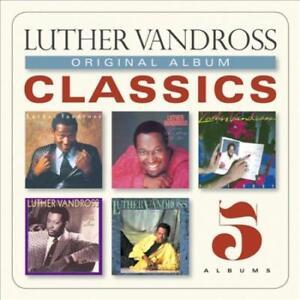 LUTHER VANDROSS - ORIGINAL ALBUM CLASSICS NEW CD