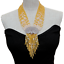 """thumbnail 3 - 9 Strands Yellow JadeWhite PearlNecklace CZ Pave Peacock Pendant19.5"""""""