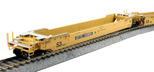 Kato (HO-Scale) TTX Double Stack MAXI-IV #724792 (30-9051) NEW *FREE SHIPPING
