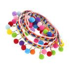1/10 Yards Colorful Pom Pom Trim Ball Fringe Ribbon DIY Sewing Accessory Lace