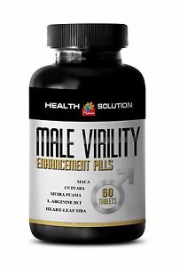 Proven formula - MALE VIRILITY ENHANCEMENT PILLS - Improved Recovery - 1 B, 60