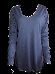 40 42 36 44 Baumwolle Damen Bluse Langarm verschiedene Farben mit Glanz Gr