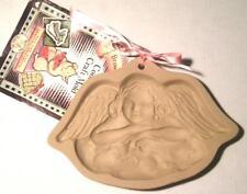 Brown Bag Cookie Art Cherub Angel on Cloud Mold 1992 Recipe Book Paper Cast More