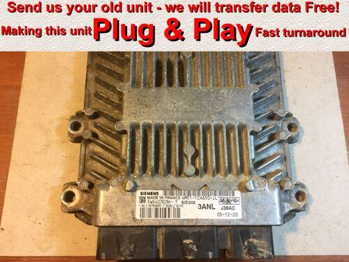 Ford Focus 1.8 TDCI ECU SID202 4M51-12A650-JL 5WS40303K-T 3ANL *Plug /& Play*
