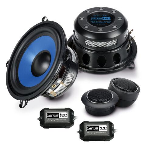 Sinustec Lautsprecher 130mm Kompo Boxen für Peugeot 106 91-03 Front