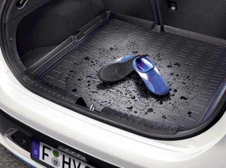 G2122ADE00 Genuine Hyundai IONIQ 2016 Hybrid Rubber Boot Liner
