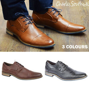 Mens Formal Shoes Italian Smart Formal Wedding Office Shoes Size 7 8