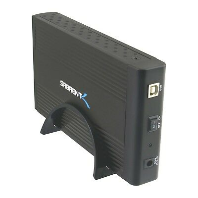 Genuine Sabrent 3.5-Inch Aluminum SATA/SATA II to USB 2.0/ESAT ECS-U35K