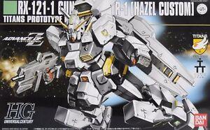 Agressif Bandai Hguc 1/144 Rx-121-1 Gundam Tr-1 Hazel Personnalisé Maquette En Plastique