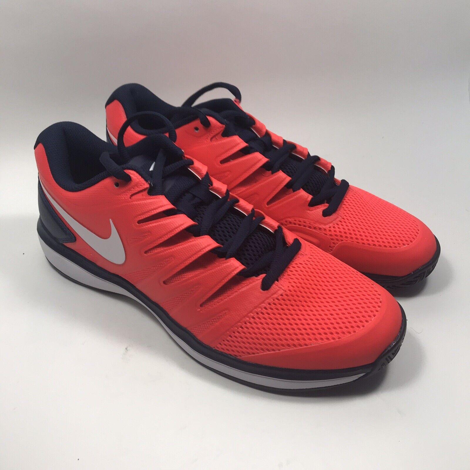 Nike Air Zoom Prestige Bright Crimson Tennis shoes AA8020 614 Men's Size 11.5