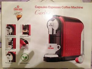 Caffe-Cagliari-Carina-Capsules-Espresso-Red-Coffee-Machine-New-Boxed-Uk-Rrp-250