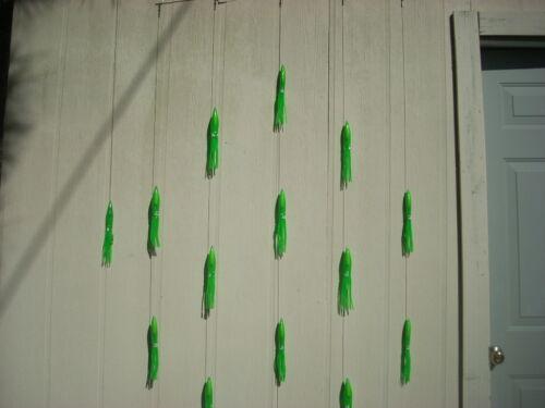 """Mahi, sinking/""""   36 in Spreader Bar  Tuna 14 9/"""" Green  /""""Old Faithful"""