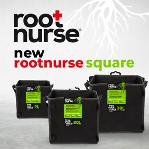 ROOT-NURSE-SQUARE-Fabric-Plant-Pot-Breathable-Pots-Hydroponics-Grow-Bag