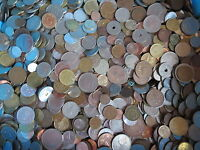 1 Kg Münzen Europa Nordamerika - Kilo - Kilogramm