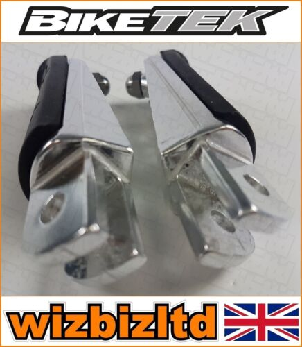 Biketek Rubber OEM Replacement Front Footpegs Yamaha FZ1 2001-2007 FRY301