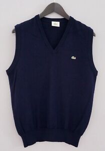 Men-Lacoste-Vest-Devanlay-Blue-Wool-V-Neck-4-M-XMO936