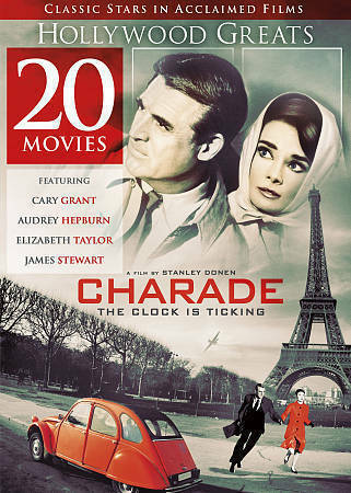 20-Movie Hollywood Classics Charade and many more (DVD, 2017) 0141 1