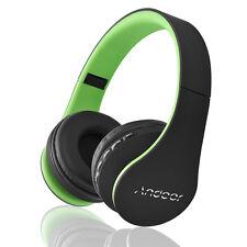 Bluetooth Wireless Headset Stereo Headphone Earphone Handfree Mic For SmartPhone