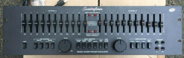 Nauwkeurig Soundcraftsmen Dx4200 Preamp Equalizer Rack Beroemd Om Hoogwaardige Grondstoffen, Een Breed Scala Aan Specificaties En Formaten, En Een Grote Verscheidenheid Aan Ontwerpen En Kleuren