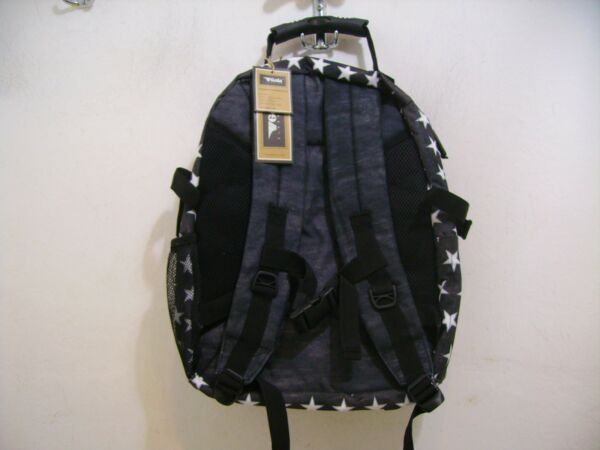 Gola Zaino Scuola Brody 2 Vintage Stars Cub403 Black Nero