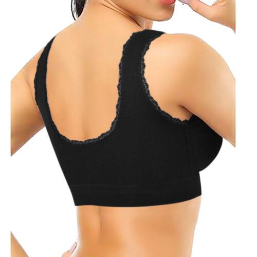 Women Soft Seamless Yoga Sport Bra Crop Top Super Stretch Vest Support 8 colors