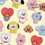 BT21-Baby-Character-Wappen-Badge-S-amp-L-Size-Official-K-POP-Authentic-Goods miniature 1
