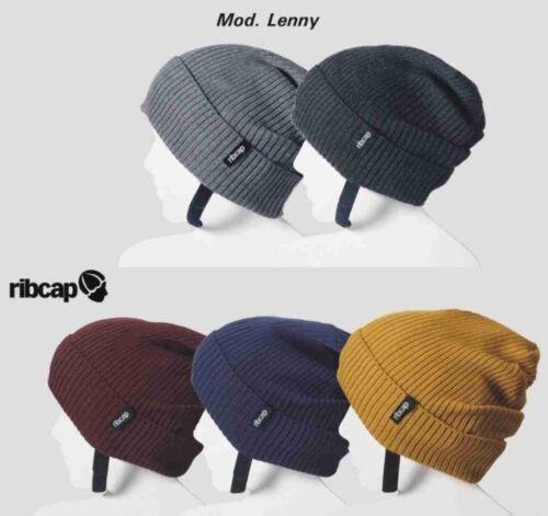 RIBCAP Lenny stylischer Helm Ersatz Fahrrad  Mütze Kopf schutz Protektoren