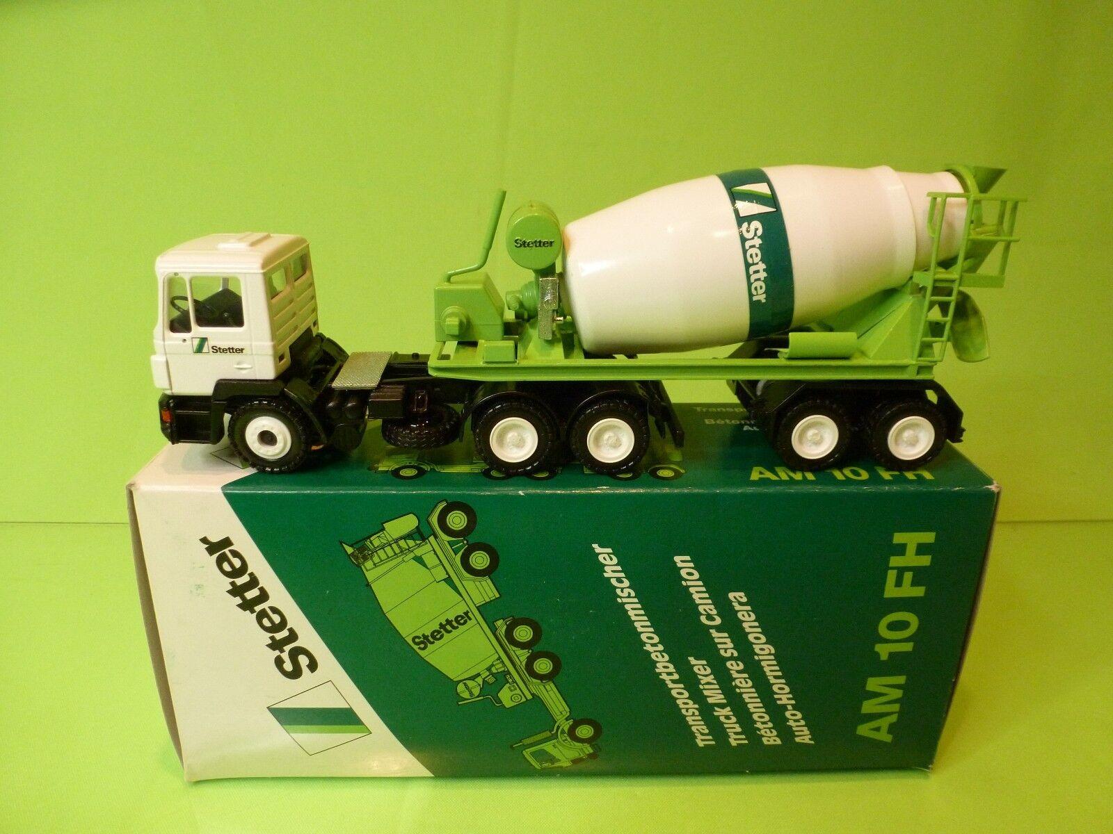 CONRAD 4150 STETTER TRUCK MIXER AM 10 FH - TRANSPORT BETONMISCHER - NMIB