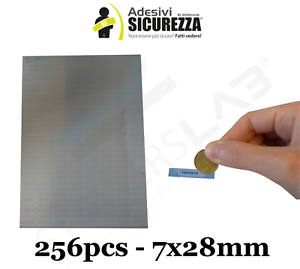 256 Label Scratch off modello gratta e vinci adesivi 7x28mm numerazione seriale