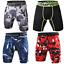 Mens-Gym-Sports-Compression-Basic-Layer-Shorts-Pants-Athletic-Tights-UK thumbnail 3
