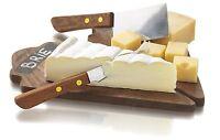 Boska Holland Taste Collection Mahogany Cheese Board & Knife Dessert Set