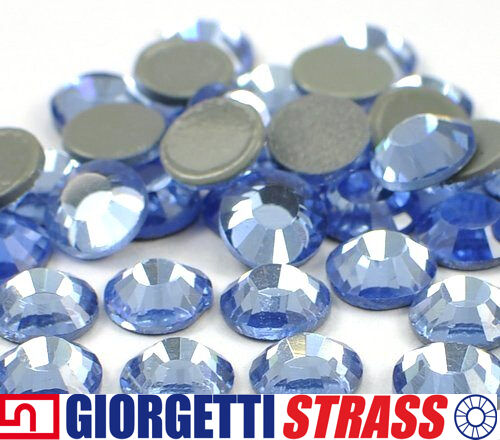 STRASS MC Stone collection 100pz SS20 5mm Zaffiro Azzurro chiaro hot fix adesivi