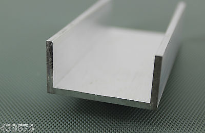 Aluminium U Channel 12 Pre Cut Sizes and 8 Pre Cut Lengths