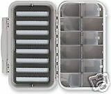 C&F 12 Compartment 8 Row Waterproof Fly Box CF-3308   cheap in high quality