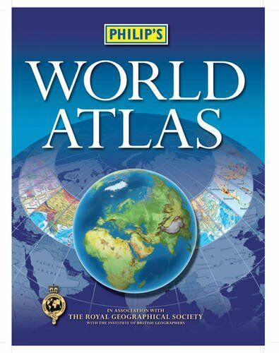 Philip's World Atlas By Philip's. 9781849071048