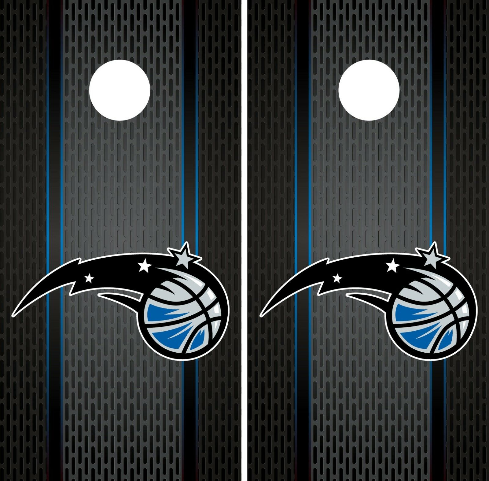 Orlando Magic  Cornhole Wrap NBA Game Board Skin Vinyl Decal Luxury Set CO681  authentic quality