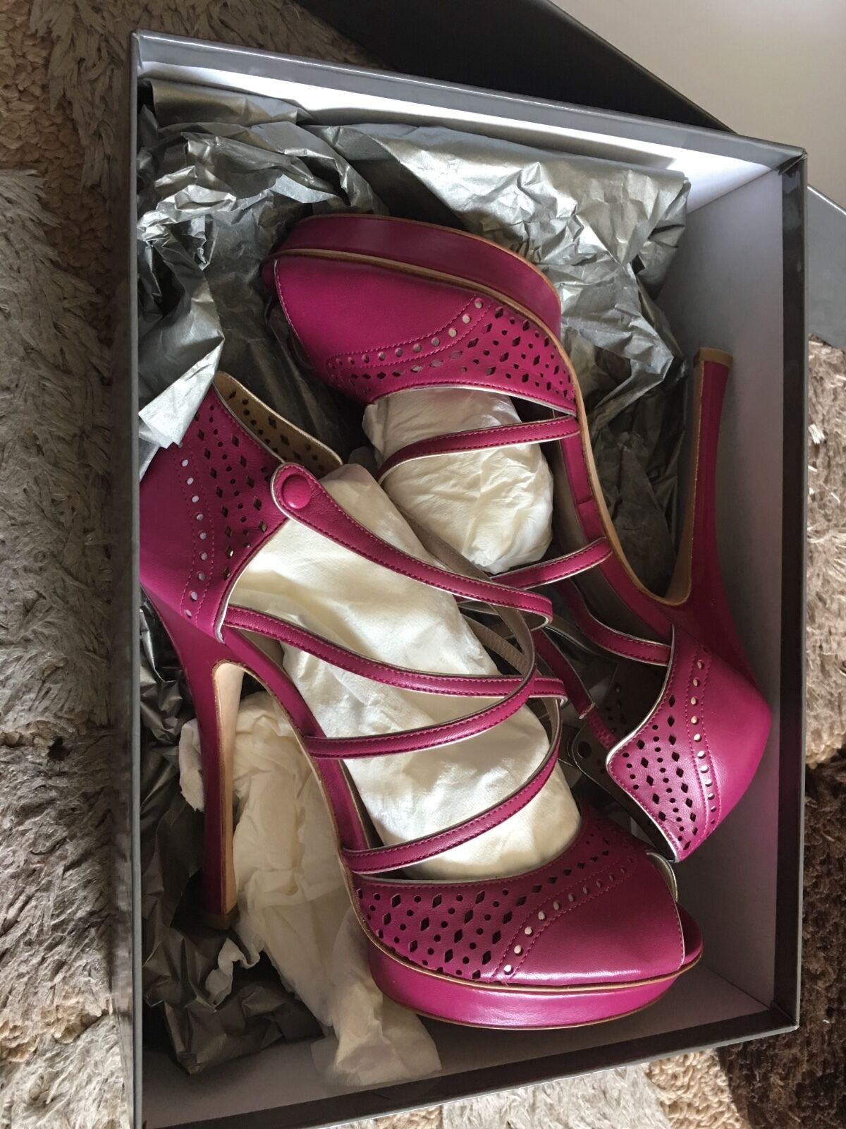 Alberta Ferretti A6317 Women US 9 Pink