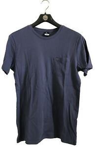Rip-Curl-PLAIN-POCKET-TEE-Mens-Crew-Neck-T-Shirts-New-CTECV2-Vintage-Navy