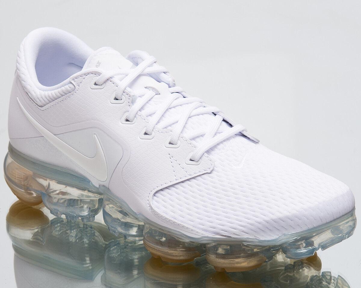 Nike air vapormax männer laufschuhe mens mens laufschuhe neue weiße turnschuhe ah9046-101 silber c3d574