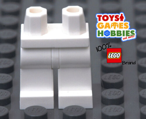 Feet Body Part White *NEW* LEGO Minifigure Minifig Lower Part Legs